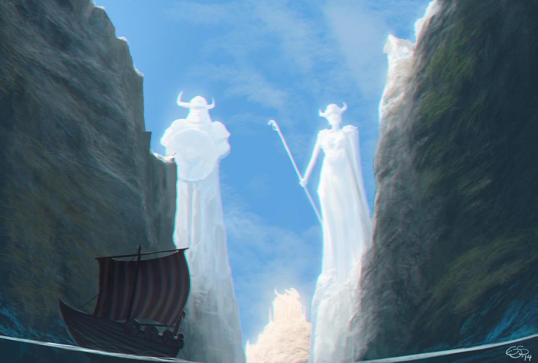 Viking Light Temple by edsfox