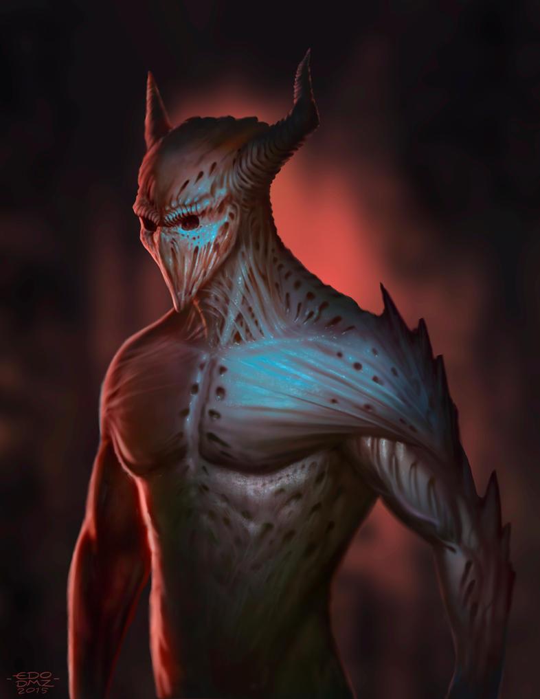 Demon by edsfox