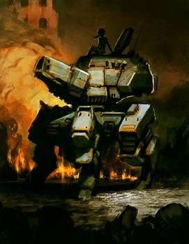 Tank doodle