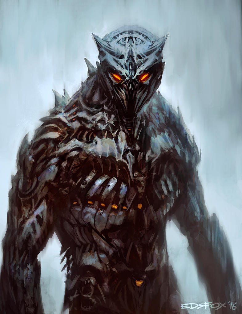 Armor sketch by edsfox