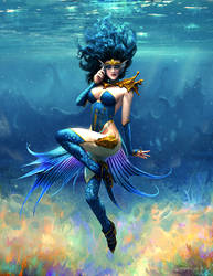 Water maiden by edsfox