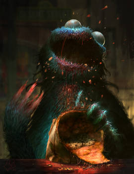 Kookie Monster Monstieur