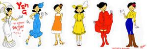 Tintin oc-Yan fashion show