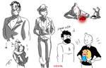 Tintin-with captain