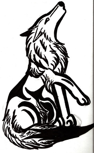 Howling Wolf Tattoo by ~GothWolfGurl13 on deviantART