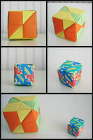 Modular Origami Squares by Lucapuuk
