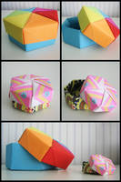 Origami Boxes by Lucapuuk