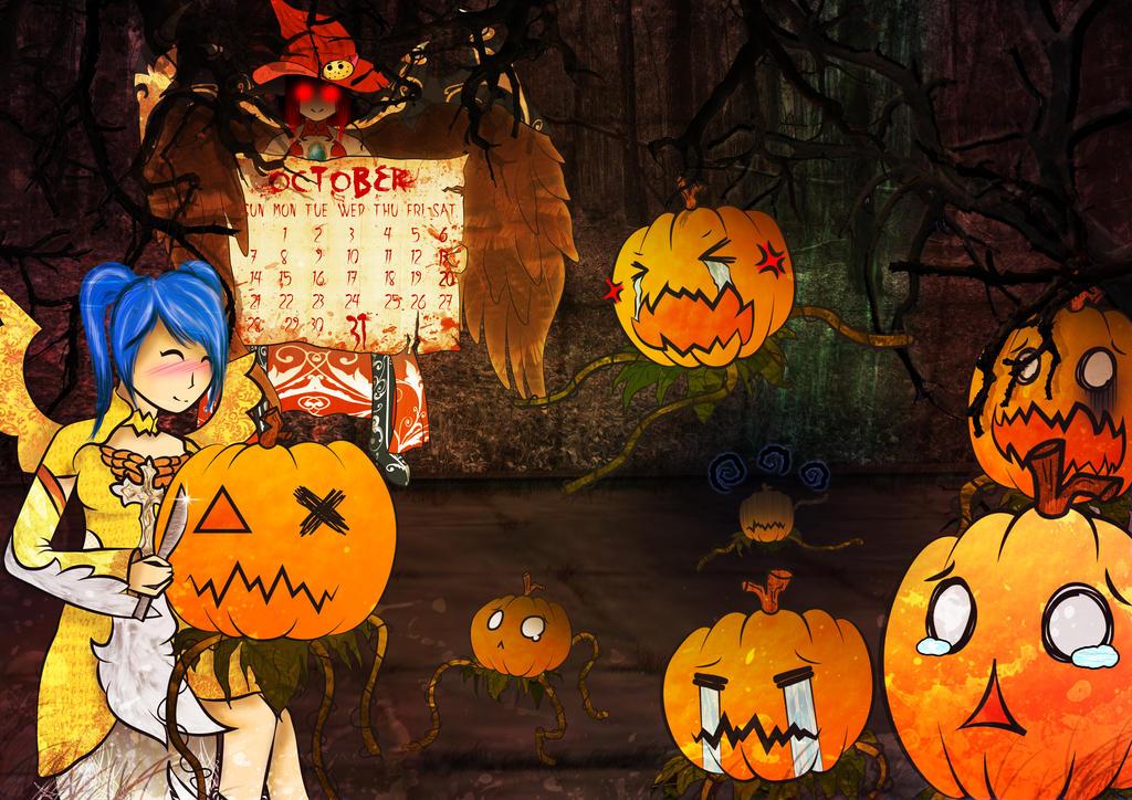 Aika Halloween night