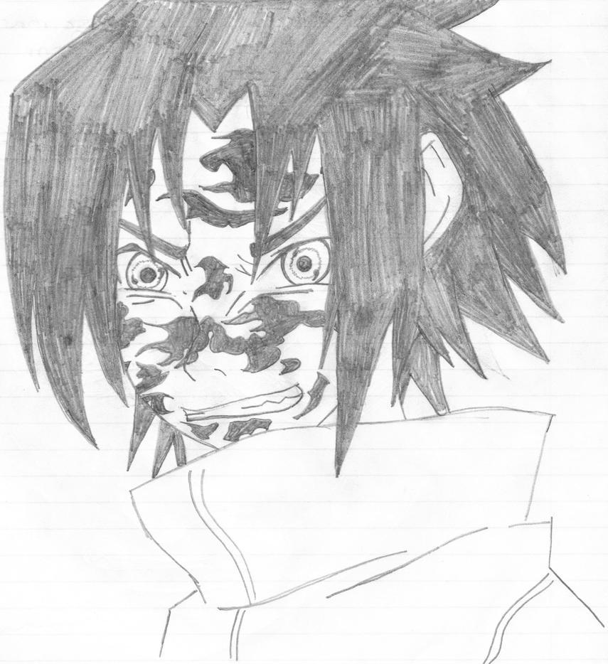 Curse Mark Sasuke 2 by leonardo9686 on DeviantArt