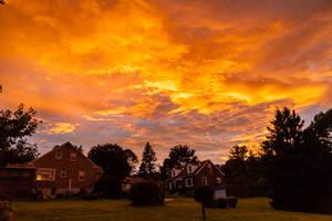 The Sky is Burning II by AngusMacRath