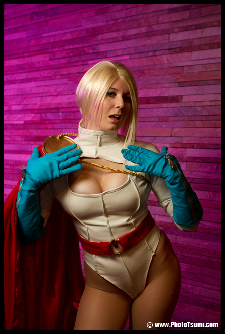 Power Girl Oh no by QueenRiot