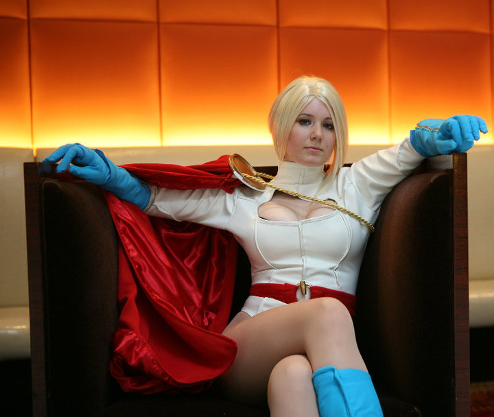 Power Girl Chair by QueenRiot