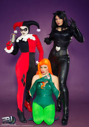 The Gotham Sirens by QueenRiot