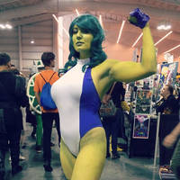 She Hulk by QueenRiot