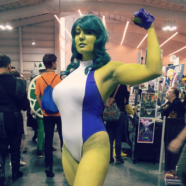 She Hulk by QueenRiot