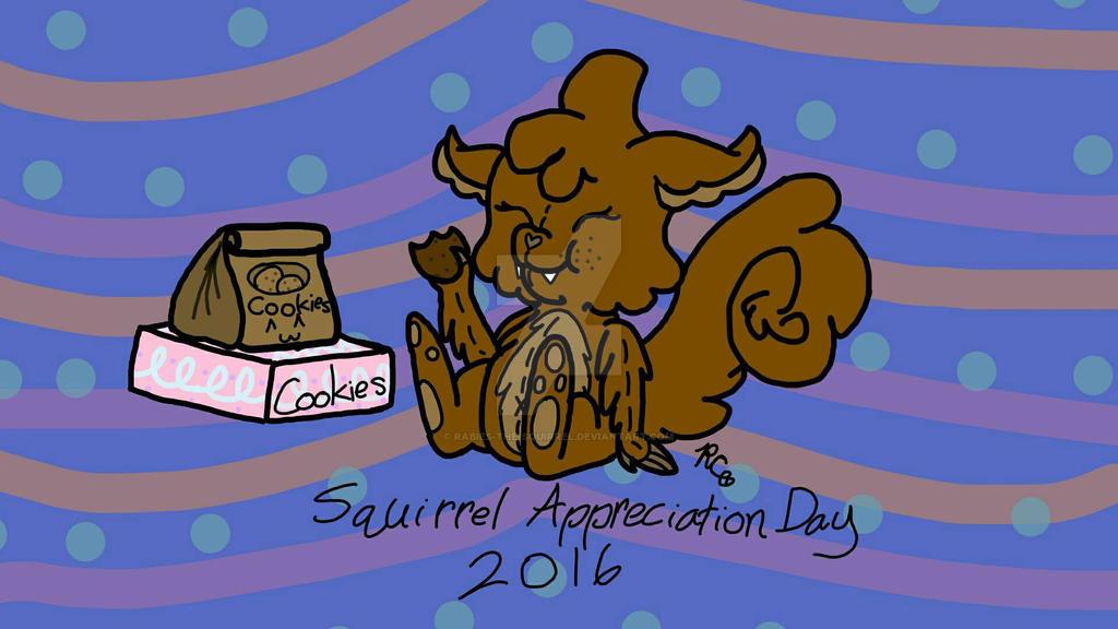 Squirrel Appreciation Day 2016 by Rabies-the-Squirrel