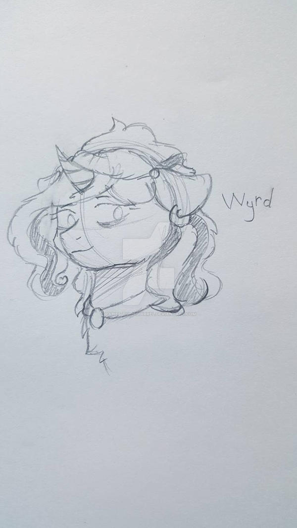 Wyrd - Old OC Revamped by Rabies-the-Squirrel