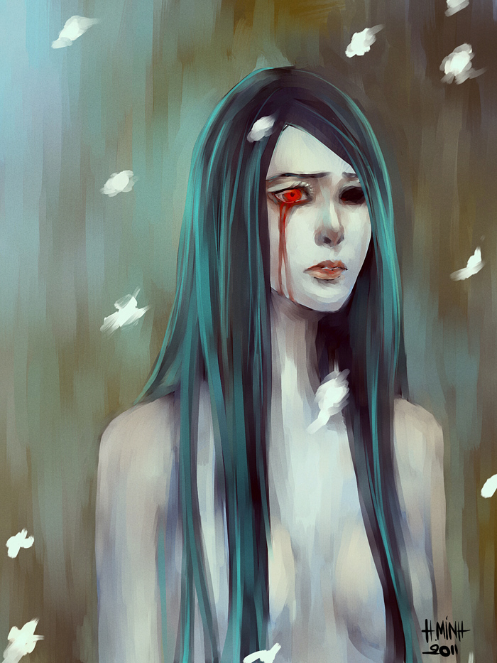the way she feels lost by NanFe