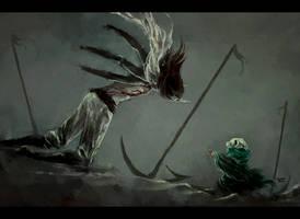 despair. he falls by NanFe