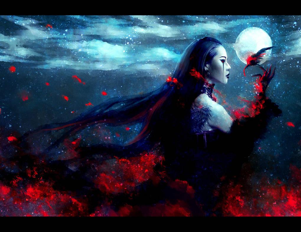 Burn...Night Bird by NanFe