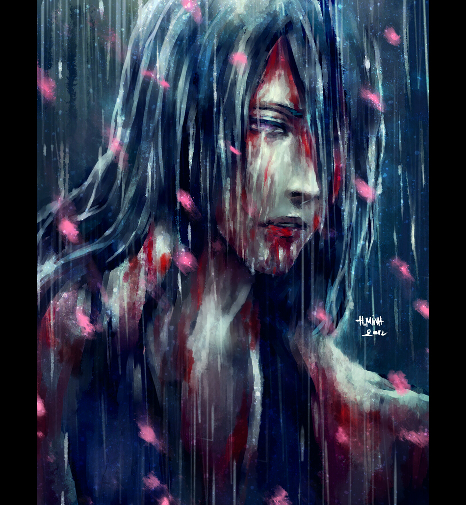 .he cries. by NanFe