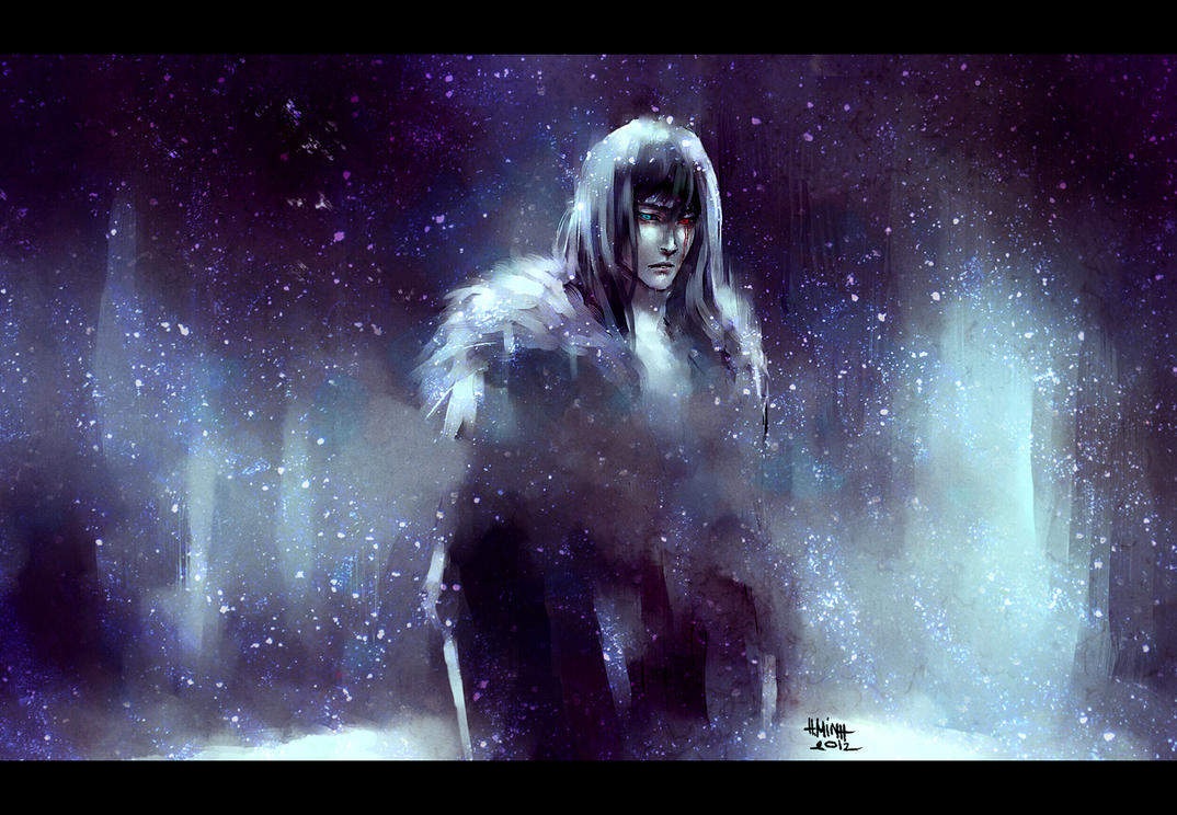 like winter that cuts through the skin by NanFe