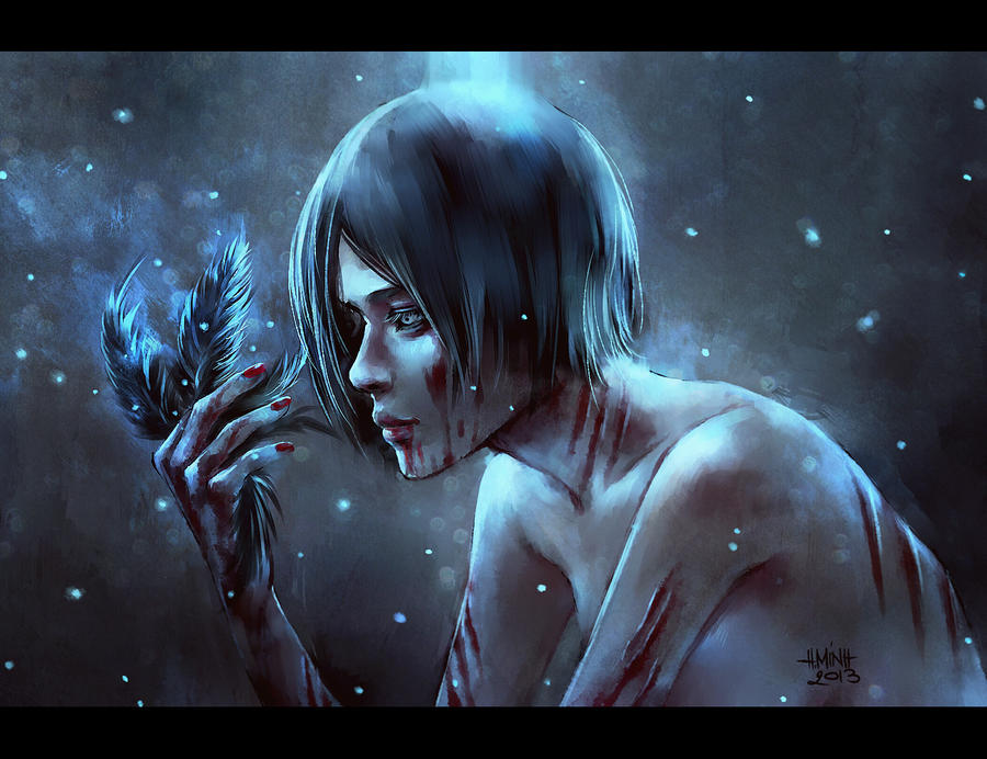 tonight.the demon has come out. by NanFe