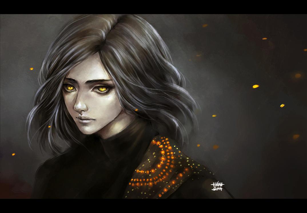 dark sparkling by NanFe