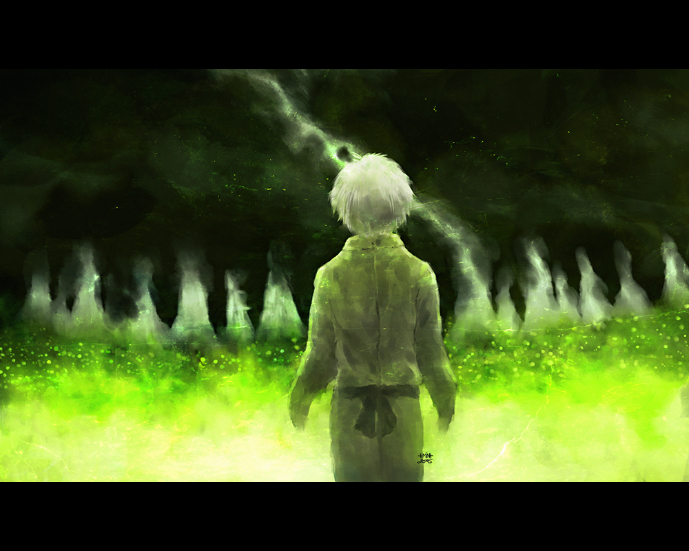 The boy who being left alone by nanfe