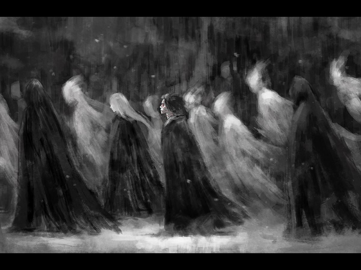 March by NanFe