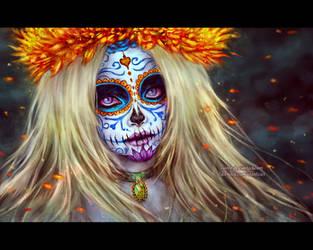 La Bella Muerte by NanFe