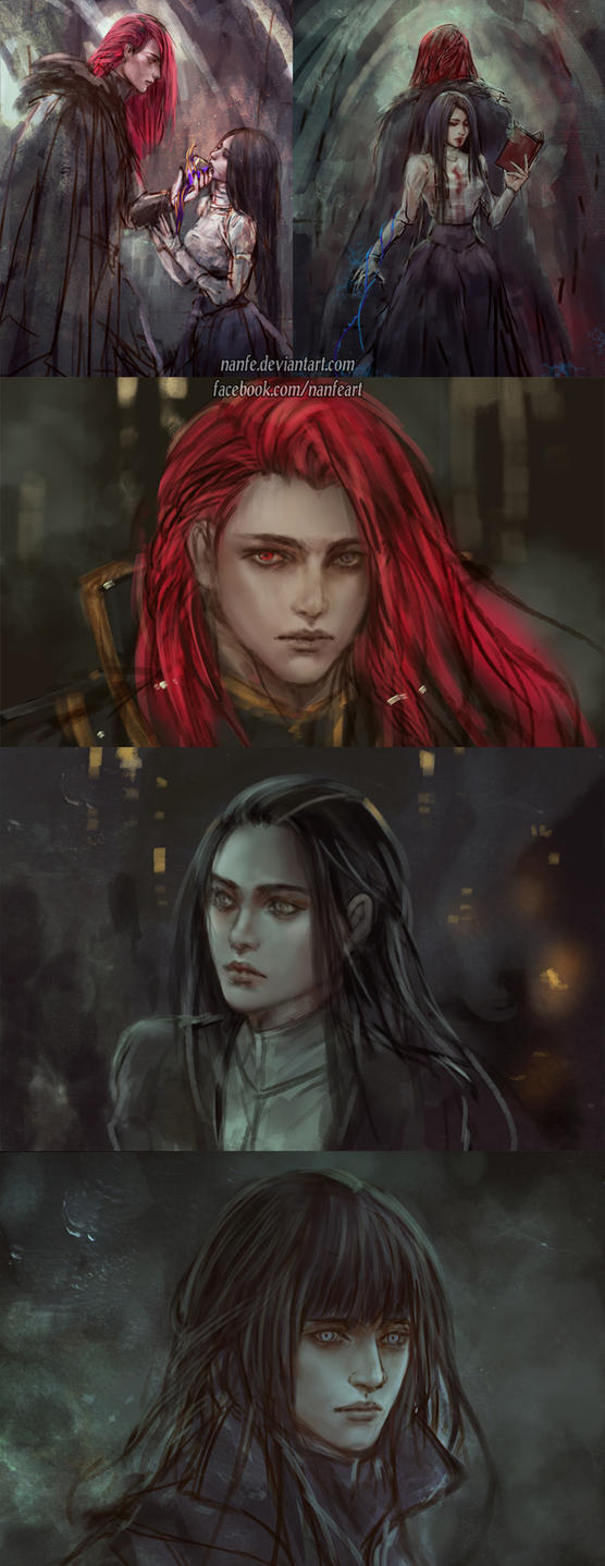 the stories untold sketches by NanFe