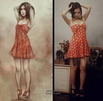 summer dress ootd