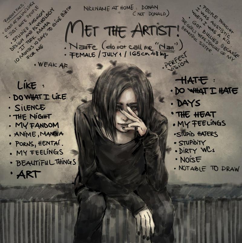 Meet The Artist by NanFe