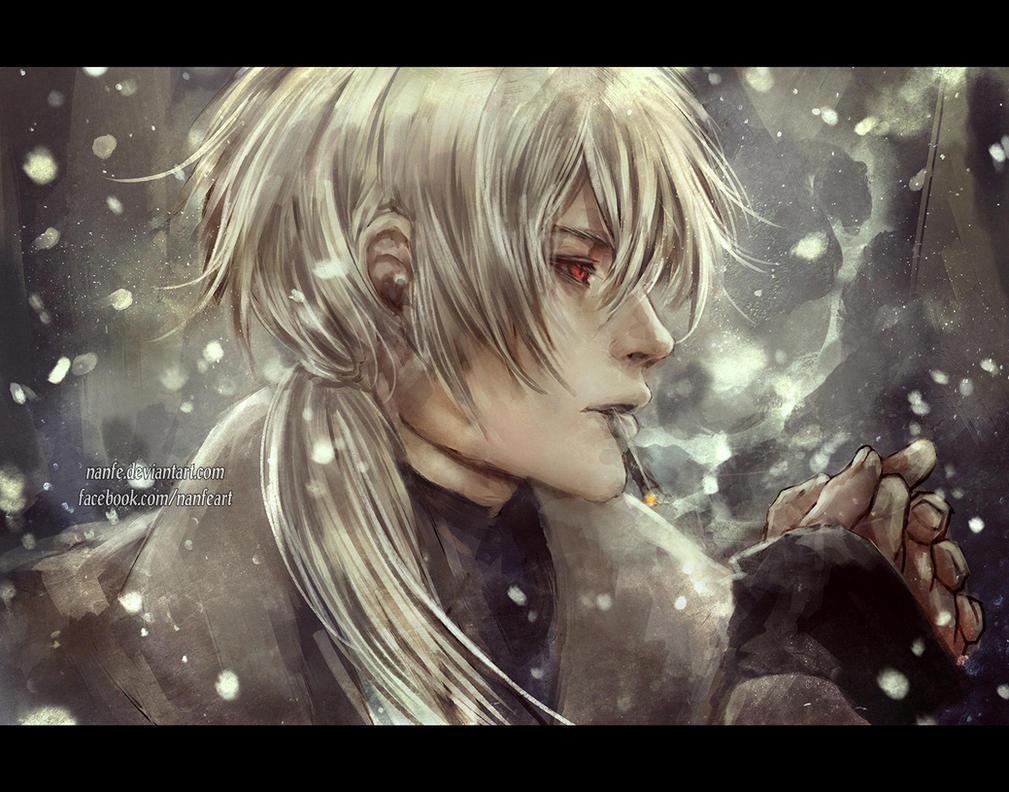 smoking snow by NanFe
