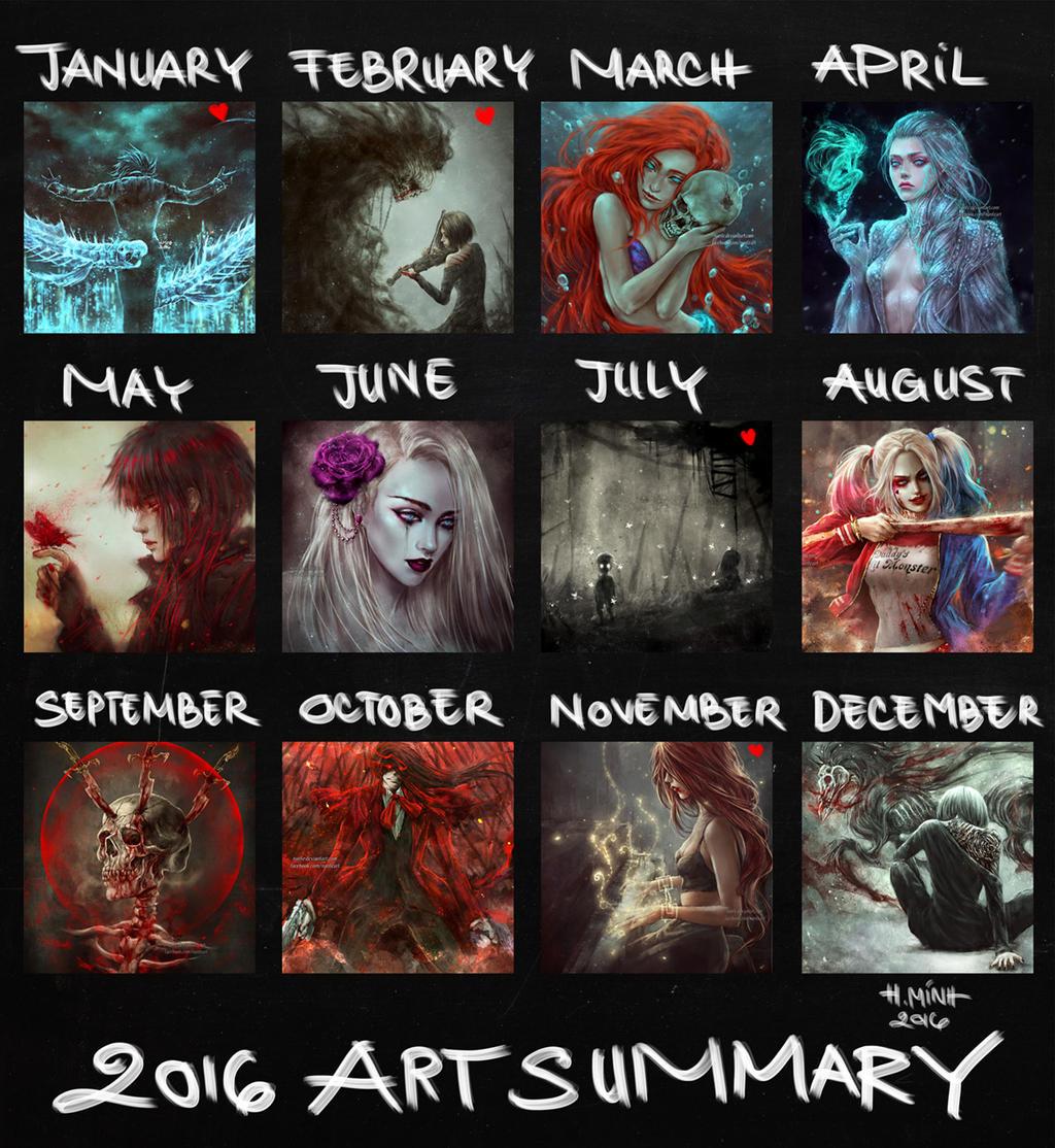 2016 ART Summary by NanFe