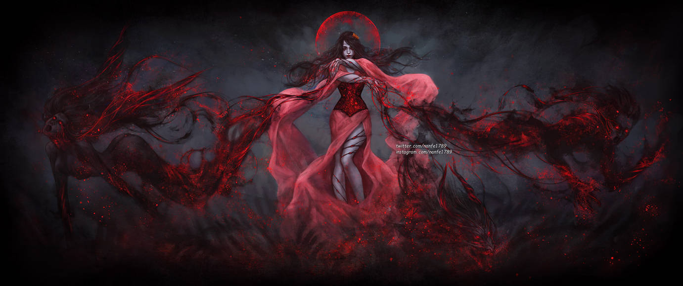 For a Muse of Fire by NanFe