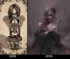 2008 vs 2018 by NanFe