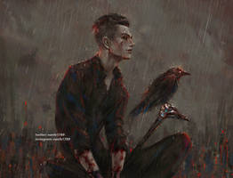 you shouldn't feed the crows, Kaz