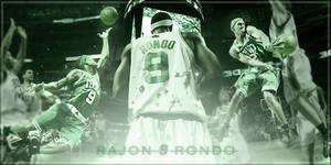 Rajon Rondo by Spider-Man91