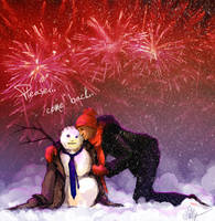 SPN_Snowman 1 by mad-samurai
