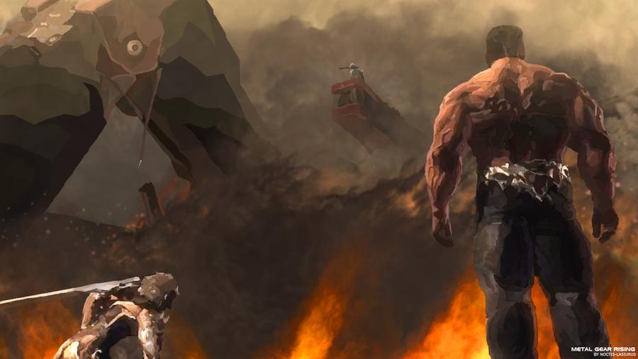 Metal Gear Rising: Revengeance - Final Boss. by Malcom-Lasiurus