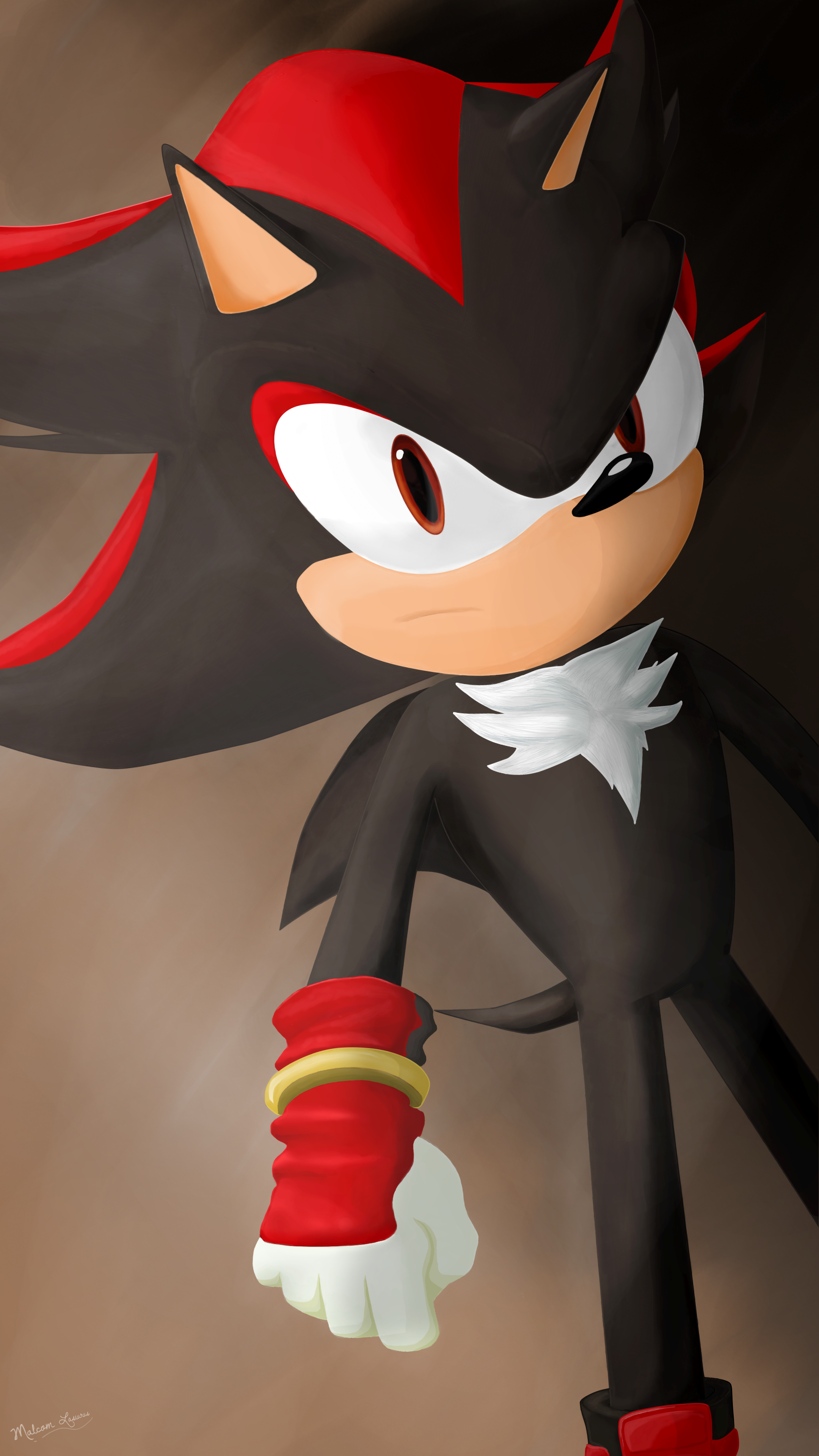 Shadow The Hedgehog From Sonic Boom In 4k By Malcom Lasiurus On Deviantart