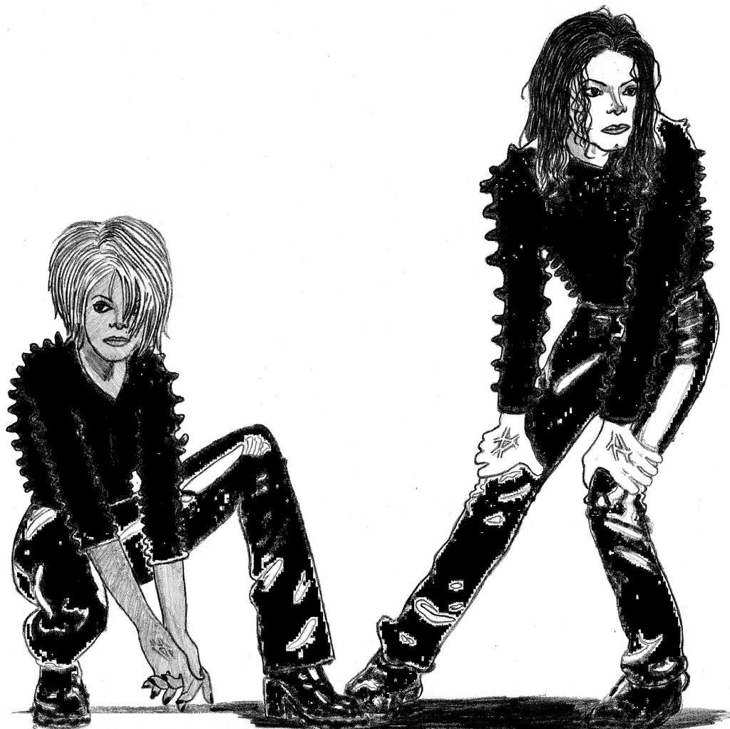 Michael Amp Janet Jackson Scream By Infjart On Deviantart