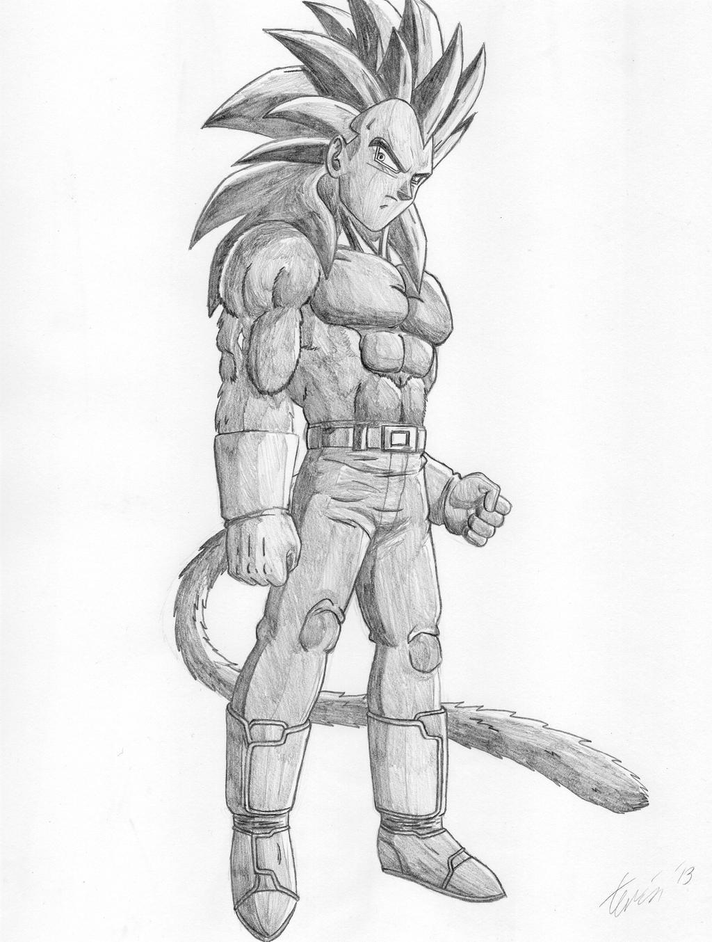Super Saiyan 4 Drawings Super Saiyan 4...1024