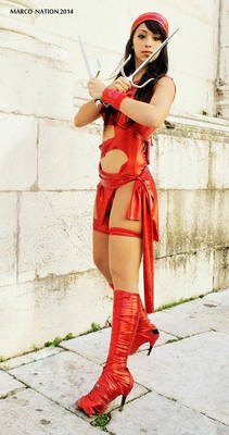 Elktra cosplay : Foto by Marco Nation