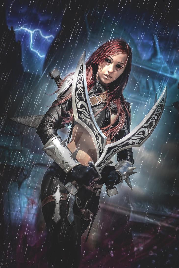 Katarina cosplay by LauraCrystalCosplay