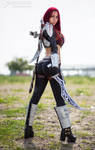 Cosplay Katarina by Crystal- Photo by Alessio Buzi
