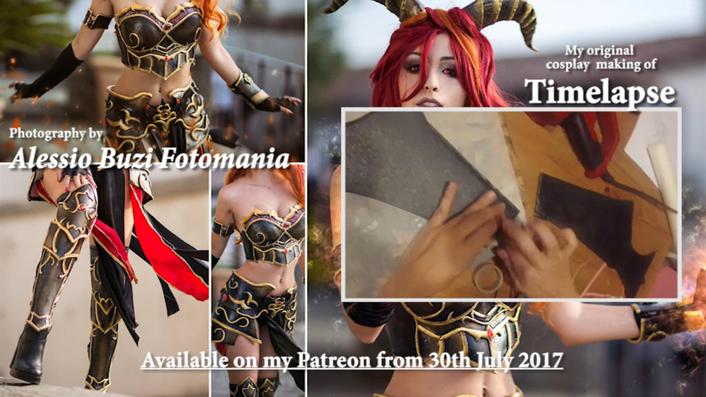 Available on my Patreon from 30th July 2017 by LauraCrystalCosplay