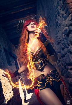 Draconian original  cosplay by Crystal Emiliani